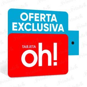 STOPPERS OFERTA EXCLUSIVA TARJETA OH
