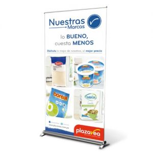Banner con Roll Screen