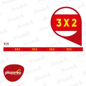 FLEJE 3X2 PV