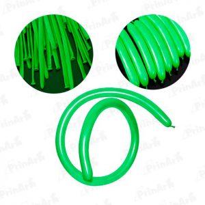 Globo Pencil Verde Manzana