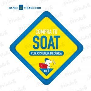 LETRERO SOAT BANCO FINANCIERO