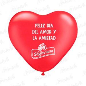 Globo Corazon Dia de San Valentin La Segoviana