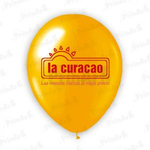 Globo La Curacao Impresion a 1 Cara