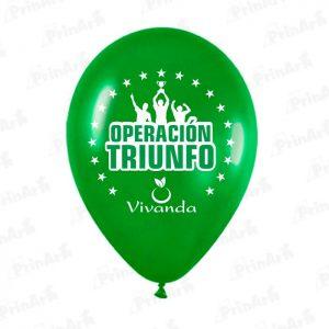 Globo Operacion Triunfo Vivanda 1 Cara