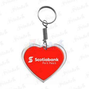 Llavero Acrilico Scotiabank