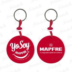 Llavero Microporoso Yo soy Mapfre