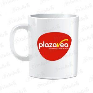 Taza Sublimada Plaza Vea