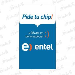 Sticker-Chip-Entel