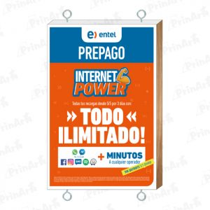 BANNER CON MARCO  MADERA INTERNET POWER ENTEL