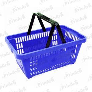 Cesta de Compras Azul