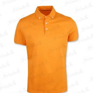 Polo-Cuello-Naranja-en-Forma-de-V