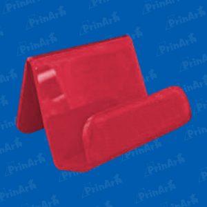 Portacelular-Inclinado-Termoformado-Rojo