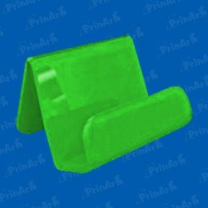 Portacelular-Inclinado-Termoformado-Verde