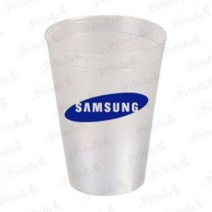 Vasos Publicitario Samsung Transparente