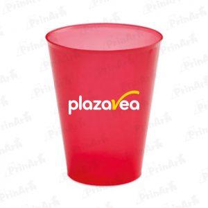 Vasos de Plastico Publicitario Plaza Vea
