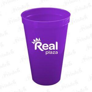 Vasos de Plastico Publicitario Real Plaza