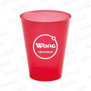 Vasos de Plastico Publicitario Wong