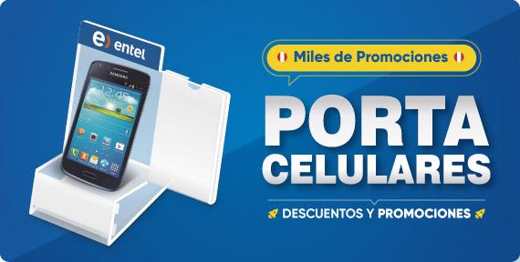 Porta Celulares en Acrilico y Exhibidores de Smartphone Lima