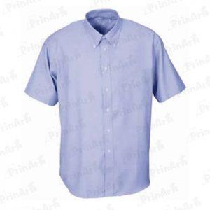 camisa-celeste-manga-corta-publicitaria