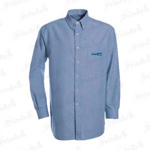 camisa-celeste-manga-larga-publicitaria
