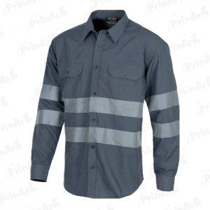 camisa-grises-manga-larga-publicitaria