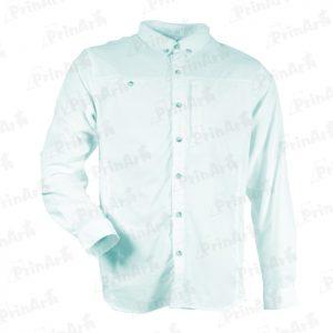 camisa-verde-manga-larga-publicitaria