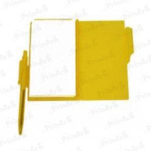 Libreta de Notas Amarilla
