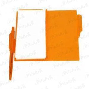 Libreta de Notas Naranja
