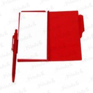 Libreta de Notas Roja