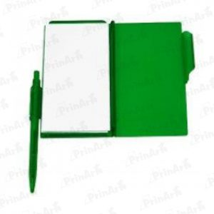 Libreta de Notas Verde