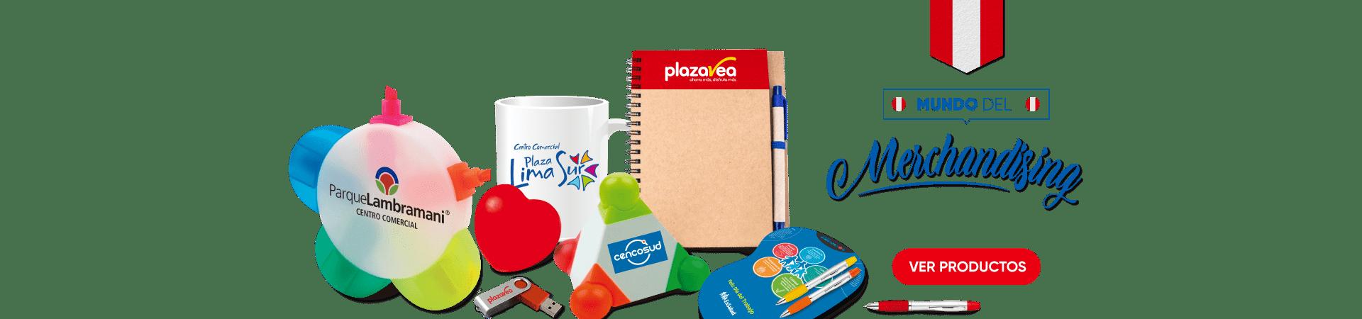 Merchandising y Articulos Promocionales en Peru
