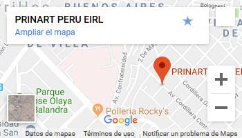 Mapa:Prinart Peru