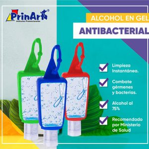 Alcohol en Gel Antibacterial 30 ml